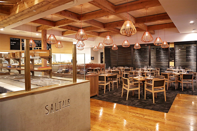 SaltAir Seafood Kitchen | Magnate Custom Construction